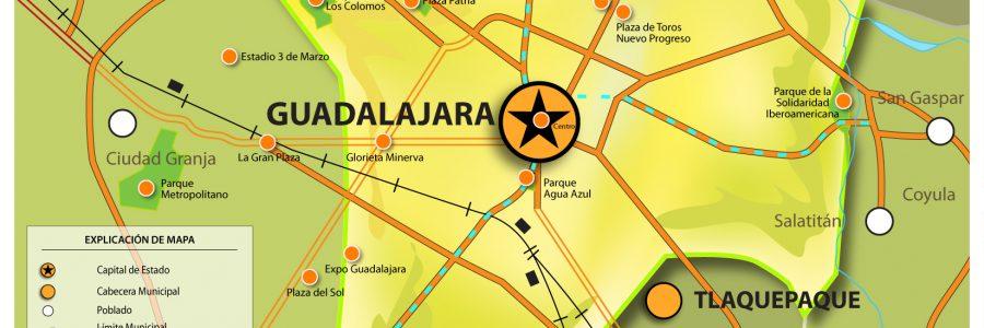 Video mostrando 35 años del crecimiento de Guadalajara, Jalisco